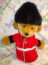 """Merrythought 12"""" Plush Stuffed Hand Puppet English Palace Guard Teddy Bear Mint"""