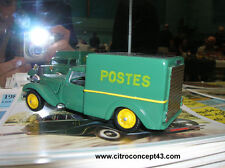 CITROEN  11CV  TRACTION  FOURGON  POSTE  VROOM  1/43  A  PEINDRE  UNPAINTED  KIT