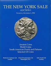 THE NEW YORK SALE AUCTION I 1998 ANCIENT WORLD SOUTH AMERICAN SELECTED US COINS