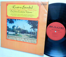 ROAD TO ISTANBUL the ETHNIC TURKISH Orchestra middle east songs MACE mono LP