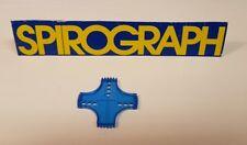 Vintage Spirograph Parker 1986 Repuesto Engranajes Patrón De Plástico. (#69).