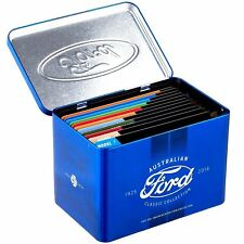 2017 FORD CLASSIC COLLECTION 12 x 50c 50 CENTS AUSTRALIA  UNC COINS IN TIN SET