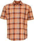 Marmot NOTUS Camiseta manga corta, Camisa funcional para hombre, vintage naranja