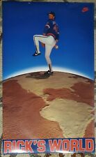 Vintage/Original Nike Poster  -  Rick's World - Rick Sutcliffe - circa mid 1980'