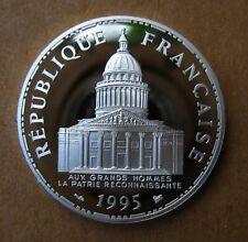 100F 1995 Panthéon @ 4 796 Ex. @ Belle Epreuve Argent