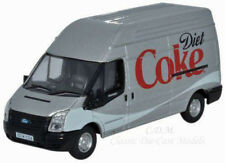 Oxford Ford Transit LWB14 Diet Coca Cola High Roof Delivery Van 1/76 OO Scale