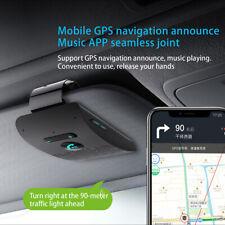 Wireless Bluetooth Hands Free Car Kit Speakerphone Speaker Phone Sun Visor FM