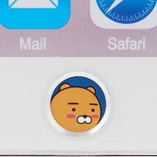 Kakao Friends Ryan Touch ID Home Button Sticker Apple iPhone iPad Mobile Laptop