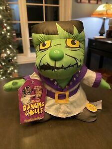 HALLOWEEN GEMMY FRANKENSTEIN MUSICAL DANCING GHOULS New With Tag NWT