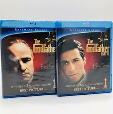Lot! The Godfather & The Godfather Part 2 (Blu-ray, 2010, Coppola Restoration)