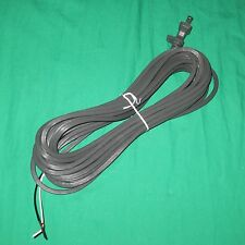 30' Gray Fit All 17 Guage 2 Wire Upright Vacuum Cleaner Power Cord w/ Cord Clip