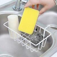 Dish Cleaning Drying Sponge Holder Kitchen Sink Organiser Stable Storage