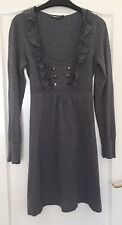 Ladies Grey Oasis Dress Size Small Excellent Condition