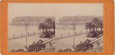 Monaco Monte-Carlo Stéréo Alfredo Noack Italie Vintage albumine ca 1860