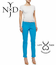 NYDJ NOT YOUR DAUGHTERS JEANS PANTS LIFT TUCK SKINNY WASHED BRIGHT BLUE  Sz 6