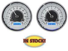 "Dakota Digital VHX Universal Dual 5.4"" Round, Analog Guage System VHX-1014-S-B"