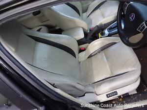 SAAB 9 3 SEDAN RIGHT FRONT SEAT, DRIVERS FRONT SUIT BUILD DATE 10/02-10/07