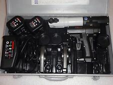 Rems Roller Multi-Press MINI ACC Li-Ion Akku Pressmaschine 3x Pressbacken