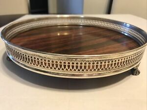 The Sheffield Silver Co Vintage Mid-Century Serving Tray Vintage 1970'sParty