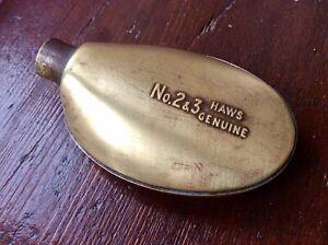 Vintage Haws Watering Can Rose Head Genuine Brass No 2&3,Original Old Patina