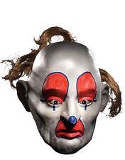 Dark Knight Costume Mask, Mens Batman Henchman Goon Dopey 3/4 Mask