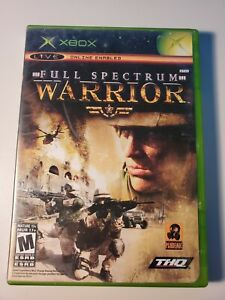 Full Spectrum Warrior - Microsoft Xbox, 2004 - Complete & Tested