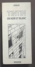 Hergé. TINTIN en noir et blanc. Casterman 1987. Coffret de 9 petits albums