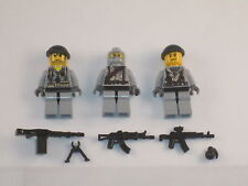 Lego 3 Custom Minifig NAVY SEALS SPECIAL FORCES  ARMY BUILDER
