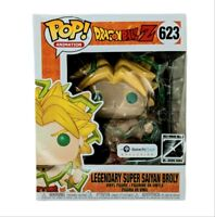 "Funko Pop Dragon Ball Z 623 Super Saiyan Broly 6"" Galactic Exclusive Bad Box"
