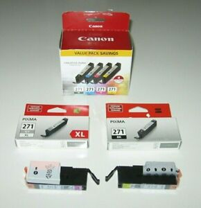 LOT OF 8 NEW CANON 271 Ink Cartridges