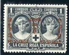 Sellos de España 1927 nº 349 1 centimo negro XXV Aniver.Jura Constitucion Nuevo