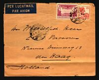 Netherlands Indies 1932 Airmail Cover to Holland (See Notes)  - Z14959