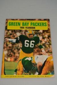 Vintage 1968 Green Bay Packers Yearbook Football Program NFL Nitschke Lombardi