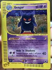 Gengar Holo 13/165 Expedition Pokemon Card PL