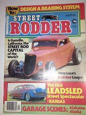 Street Rodder Magazine Vern Luce's Red Hot Coupe December 1981 042017nonrh
