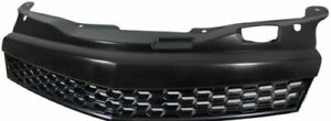 Sport radiator grill without emblem in black finish for Opel Astra H GTC