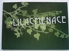 LILACMENACE , SYDNEY INDIE CULT ART ZINE - 2003  ISSUE #2