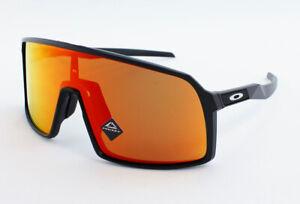 Oakley Sutro OO9406A-2037 Asian Fit Sunglasses - Matte Black/Prizm Ruby