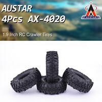 AUSTAR AX-4020 Rubber Rocks Crawler Tires Tyre For 1/10 Traxxas AXIAL RC Car