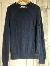 Lambretta Carnaby St Knitted Jumper Small Navy Retro Vintage Style