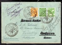 Germany 1949 Deutsche Post Cover Postal History Cover Handed Back WS16969