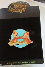 Disney Auctions Chip 'n' Dale Sharing Nuts LE 100 Pin