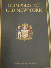 NEW YORK ARCHITECTURE 1917 Color LITHOGRAPHS Large Illustrated Edition