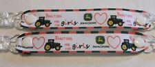 Guante MANOPLA pr Clips Niña Niño Niños Rosa Corazón tractor para chicas tema Navidad