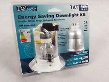 Deluce Energy Saving Downlight Kit DLDL10 Box of 10 BRAND NEW
