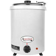 Avantco 6 Qt Stainless Steel Soup Kettle Warmer Commercial Restaurant Buffet New