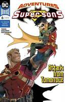 Adventures of the Super Sons #6 Attack From Tomorrow DC Comic 1st Print 2019 NM