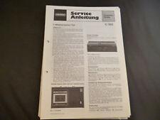 Original Service Manual Grundig   C 260