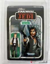 Vintage Star Wars Carded ROTJ 65 Back-A Han Solo Action Figure AFA 80 NM #111155