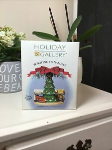 Holiday Gallery Rotating Ornament By Ornamotion